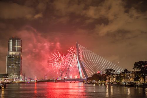 Rotterdam Erasmusbrug WHD 2015 #4 von John Ouwens