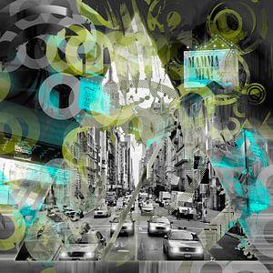 New York City   Geometric Mix No. 6