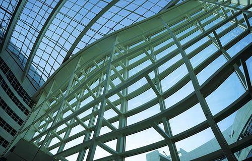 Deel van het Atrium Stadhuis Den Haag / Ein Teil des Atrium des Rathauses in Den Haag / Part of the