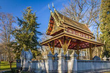 Siamesischer Tempel Thai-Sala im Kurpark von Bad Homburg van Christian Müringer