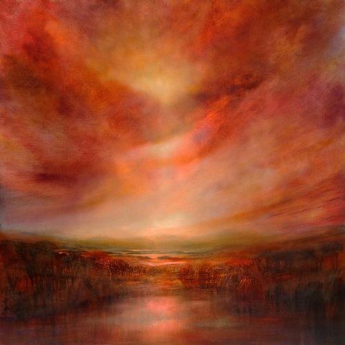 Evening glow van Annette Schmucker