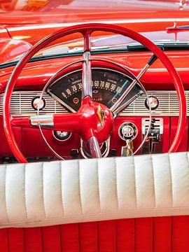 De Chevrolet Bel Air Convertible uit 1956 van Martin Bergsma