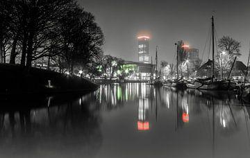 De Wester Stadsgracht in Leeuwarden  von Sidney Portier