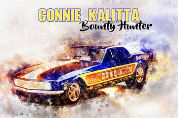Connie Kalitta, Bounty Hunter met titel van Theodor Decker