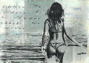 Surfer-Mädchen von Nora Bland