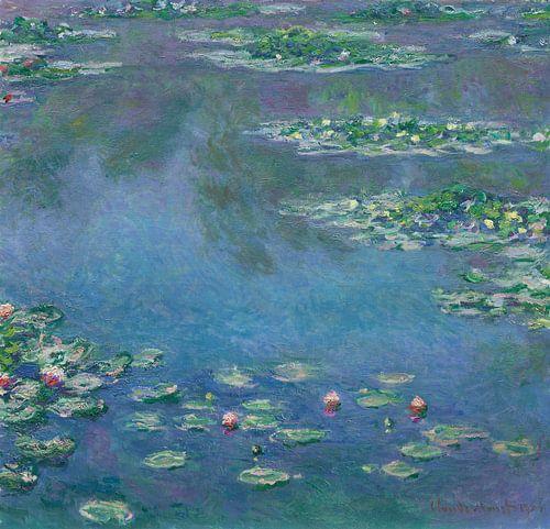 Waterlelies, Claude Monet von Meesterlijcke Meesters