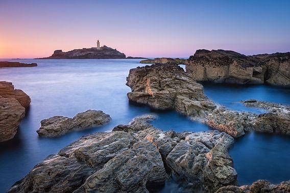 Godrevy Lighthouse van Sander Poppe