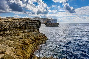 Kustlijn van Gozo van
