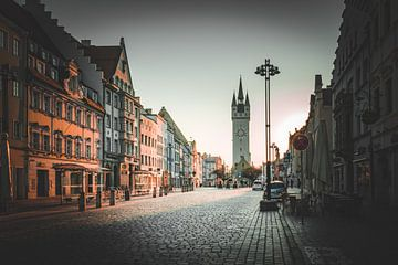 Stad Straubing in Neder-Beieren van Thilo Wagner