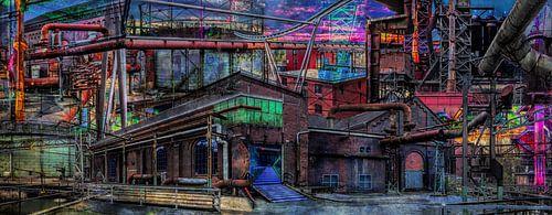 Collage Landschaftspark Duisburg