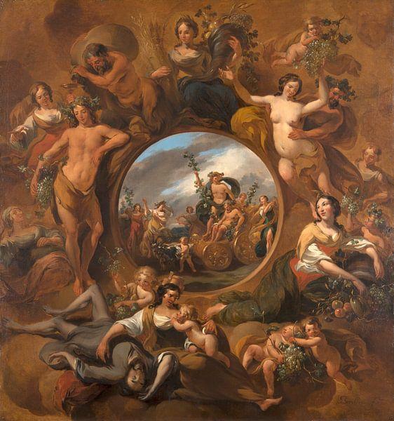 Allegory of Autumn, Nicolaes Pietersz Berchem von Meesterlijcke Meesters