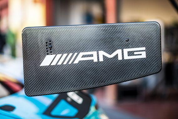 Mercedes AMG GT vleugel van Bart Mozer