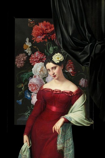 Dark Light Lady van Marja van den Hurk