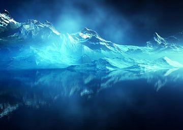 Magische bergen van Angel Estevez