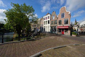 Oudegracht in Utrecht ter hoogte van de Geertebrug sur In Utrecht