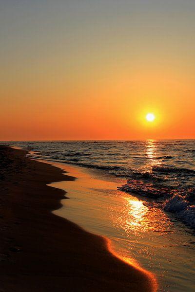 sunset sur Ostsee Bilder