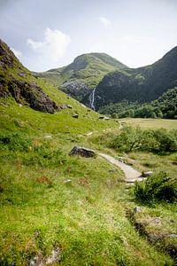 The valley of Ben Nevis, Scotland