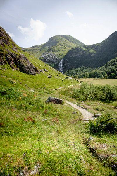 The valley of Ben Nevis, Scotland van Boy  Driessen