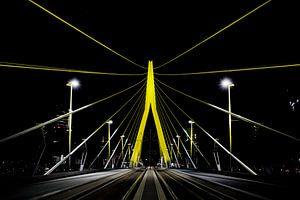 Erasmusbrücke, Rotterdam von Martijn Smeets
