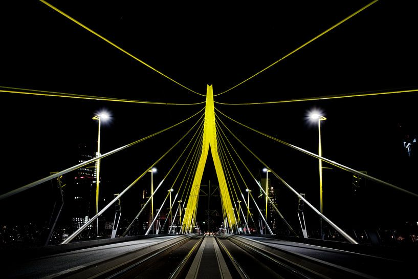 Erasmusbrug, Rotterdam van Martijn Smeets