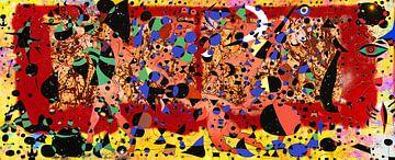 Matisse Miro Rothko Pollock and Zanolino Art Party van Giovani Zanolino