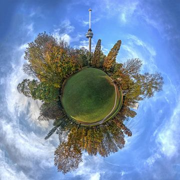 Bolpanorama Park bij de Euromast, Rotterdam van Frans Blok
