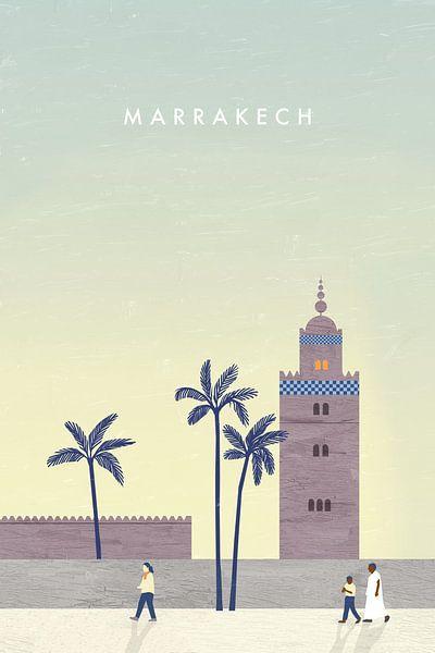 Marrakesch van Katinka Reinke