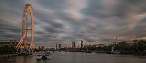 Panorama London at Sunset