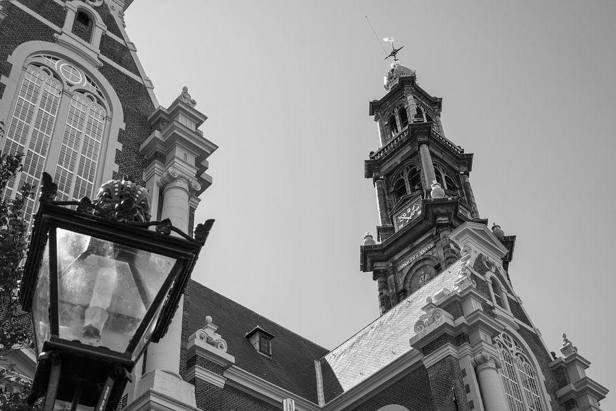 Westerkerk in Amsterdam van Loek van de Loo
