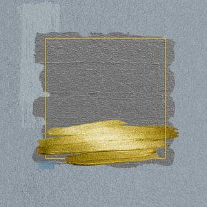 Abstract vierkant II van Dray van Beeck