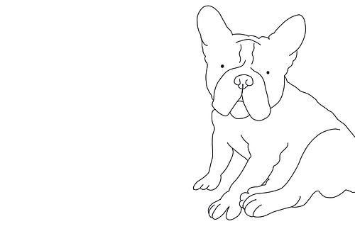 french bulldog sur MishMash van Heukelom
