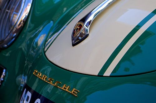 Groene Porsche 365 C