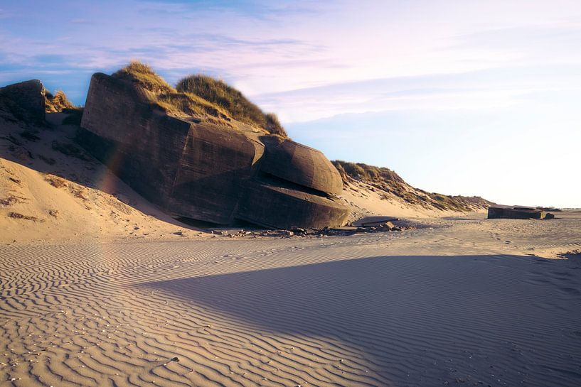 bunker op het strand van Kristof Ven