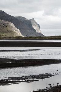 Côte sur le Hornstrandir, Islande