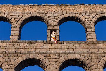 Aquaduct van Segovia, Spanje van Maarten Hoek