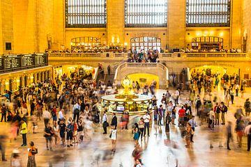 Couloir New York Central Station sur Eric van Nieuwland