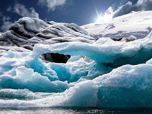 Gletsjermeer Jökulsárlón, IJsland