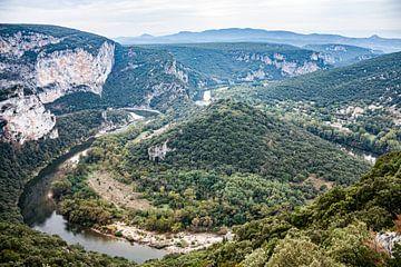 Gorges de l'Ardèche van Martijn Joosse