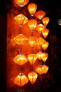 Lampionnen in Hoi An van