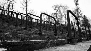 Staantribune (Zwart-Wit) van Sander Wesdijk