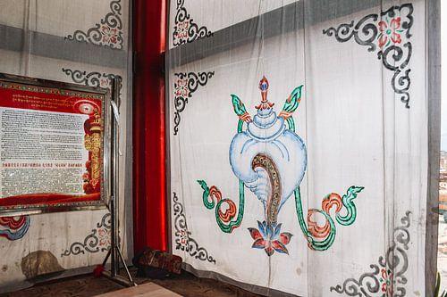 Tibetaans gelukssymbool: de Schelphoorn