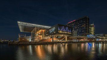 Oosterdokseiland Amsterdam van Frans Nijland