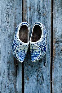 Klompen in Delfts blauw