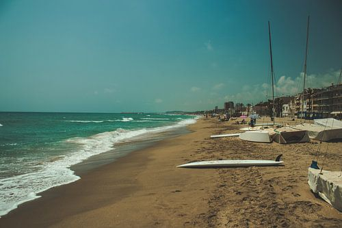Het strand in cunit