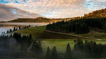Neuberg im Sonnenaufgang von Jens Sessler