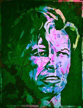 David Bowie Classic Pop Art Serie No.7 sur Felix von Altersheim