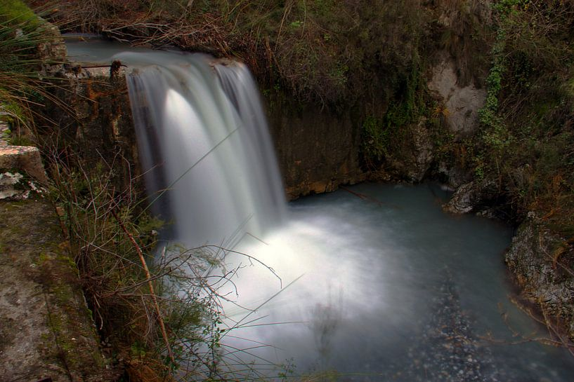 Durcal Waterfall 2 van Cornelis (Cees) Cornelissen