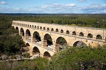 Pont du Gard van Petra van der Werff