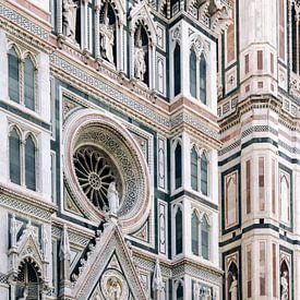 Duomo ᝢ Firenze reisfotografie ᝢ architecturale foto Italië van Hannelore Veelaert
