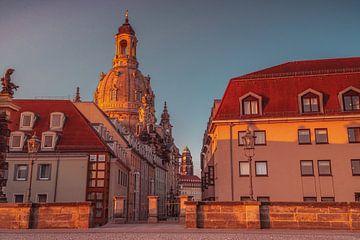 Dresden op het gouden uur van Marc-Sven Kirsch